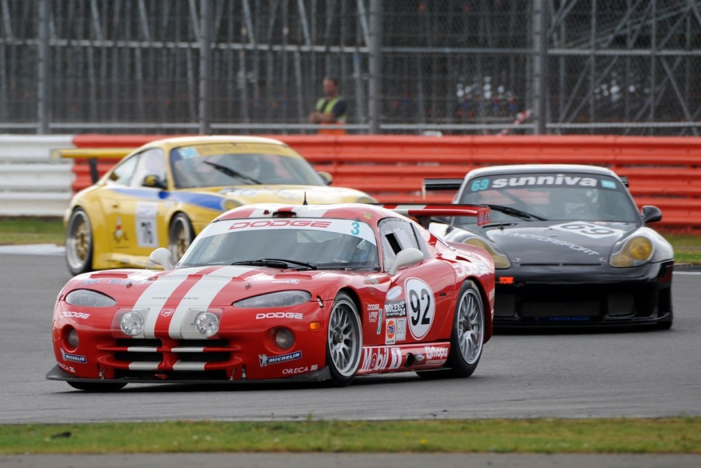 Vipers will be featured in the races saluting Daytona at the 2018 Silverstone Classic