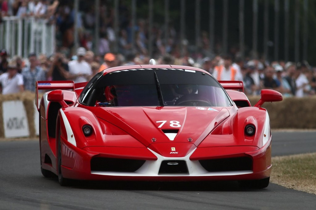Ferrari FFX at the 2018 Goodwood Festival of Speed