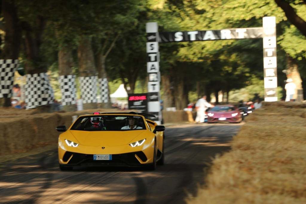 Lamborghini Huracan Performante Spyder - Goodwood Festival of Speed 2018