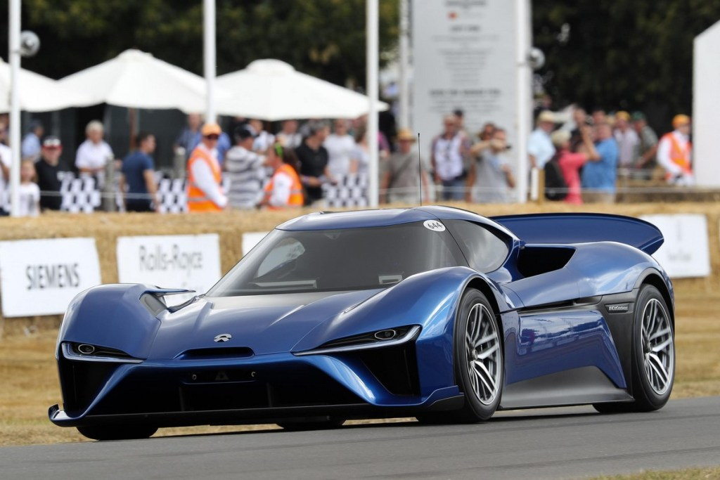 NIO EP9 - Goodwood Festival of Speed 2018