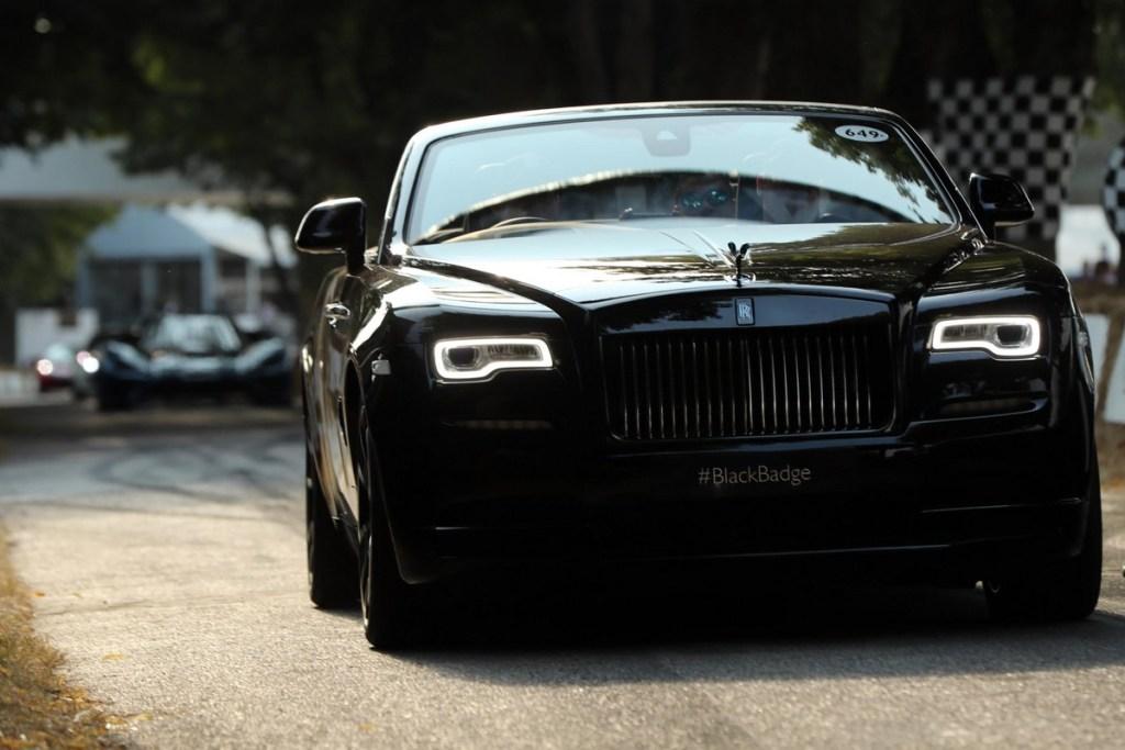 Rolls-Royce Dawn Black Badge - Goodwood Festival of Speed 2018