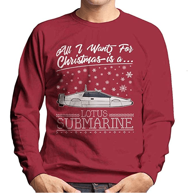 All I Want for Christmas is a Lotus Submarine Christmas Jumper