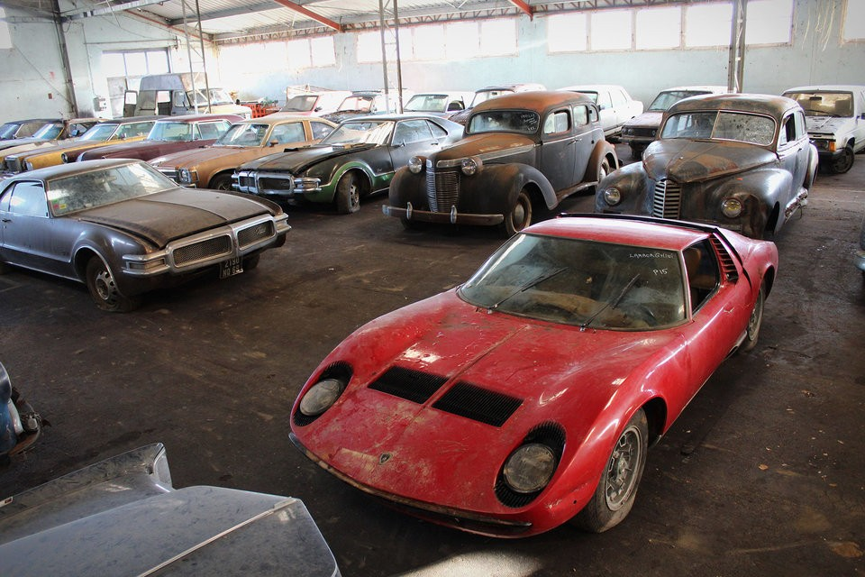 Lamborghini French barn find