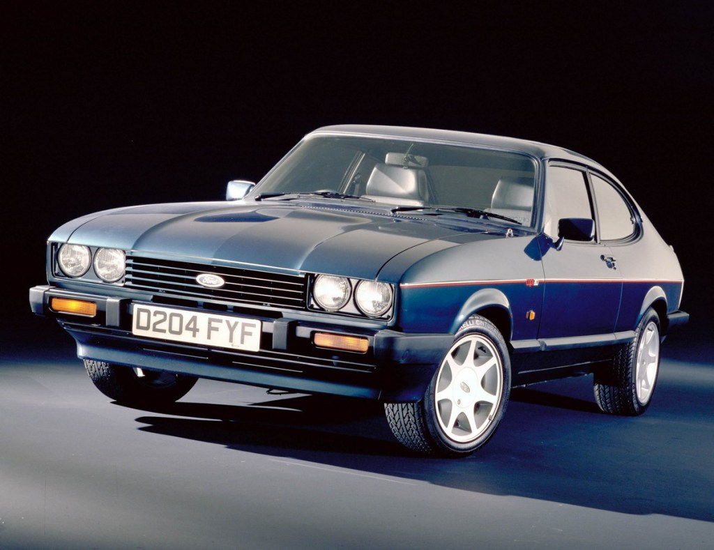 Final Capri will lead 50th anniversary parade at the Silverstone Classic