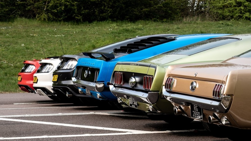 Ford Mustang 55th Birthday