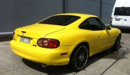 Yellow-MX5-Coupe-Rare