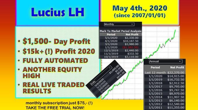 Lucius LH New High Profit