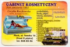 Gabinet kosmetyczny Cecylii Roszkowskiej, fot. archiwum prywatne