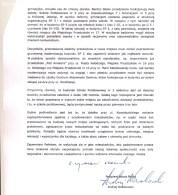 Pismo prezydenta Płocka z 20.02.2017 przesłane przez mobiDziennik