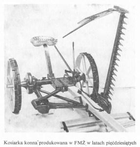Kosiarka konna - lata 1948-1954