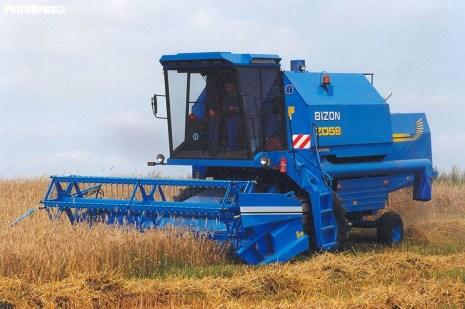 BIZON REKORD blue z akcentami New Holland 1999 © Copyright Jerzy Wróbel