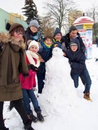 Bałwanki wykonane wspólnie z SDK PSML-W przez dzieci z Akcji Zima 2018. Opiekun grupy Jolanta Kowalska. W sumie stanęło 15 bałwanków!