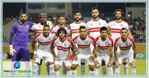 مباراه بين نادي  الزمالك ومصر المقاصة