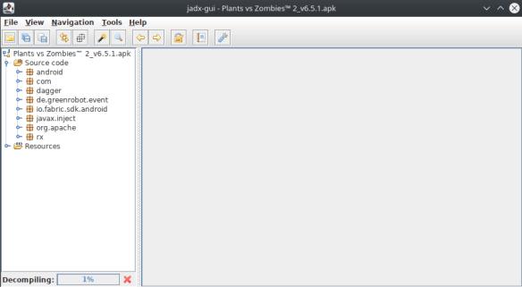 Proses Decompile JADX