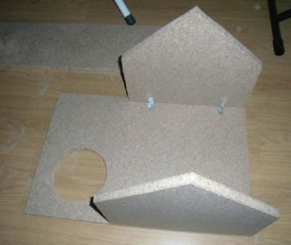 Construir uma casa no último nível - um dos últimos elementos do nosso trabalho