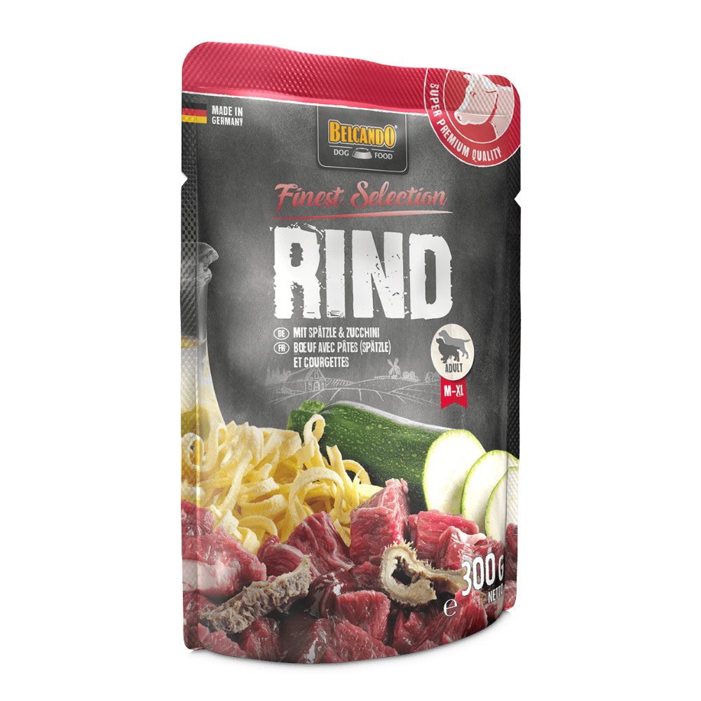 BELCANDO® Beef with Spaetzle & courgette 300g