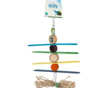 Bird Cage Chew Wooden Toy