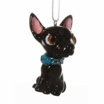 Black Chihuahua Ornament