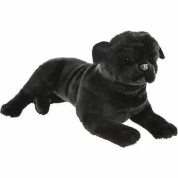 Black Stuffed Pug