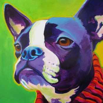 Boston Terrier Art