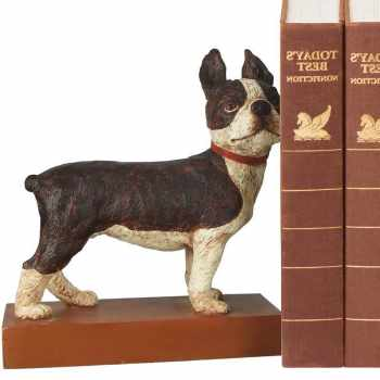 Boston Terrier Bookends