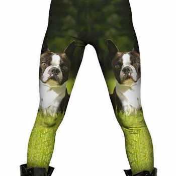 Boston Terrier Leggings