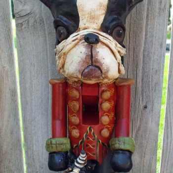Boston Terrier Nutcracker