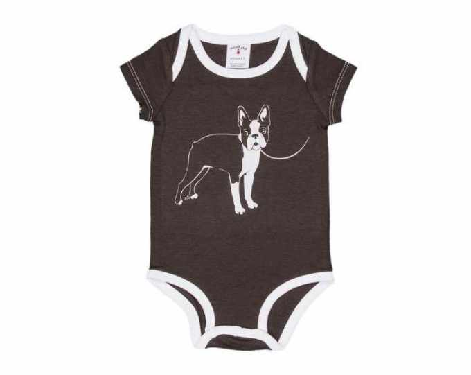 Boston Terrier Onesie