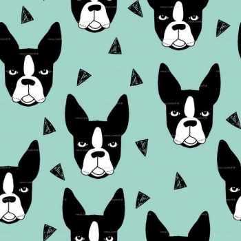 Boston Terrier Patterns