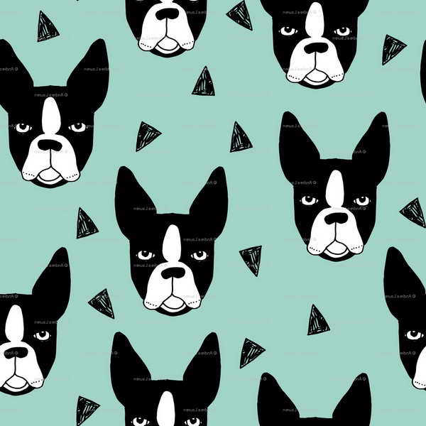 Boston Terrier Patterns
