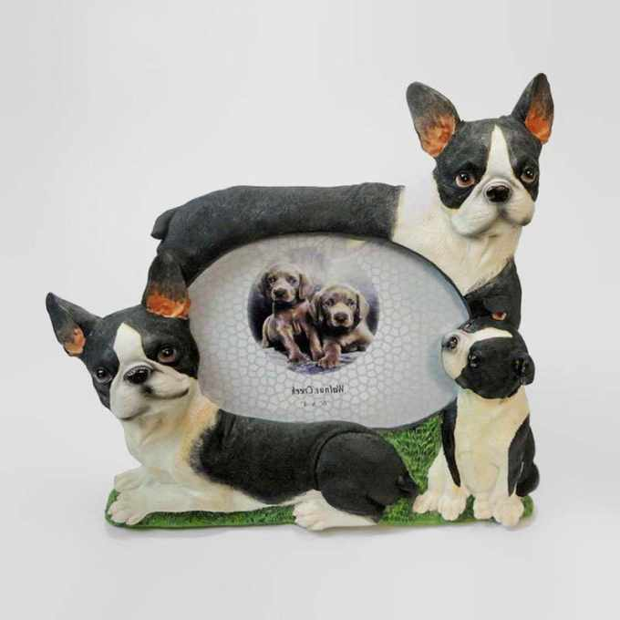 Boston Terrier Picture Frame