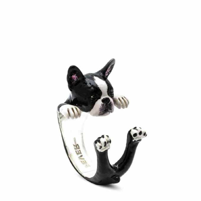 Boston Terrier Rings