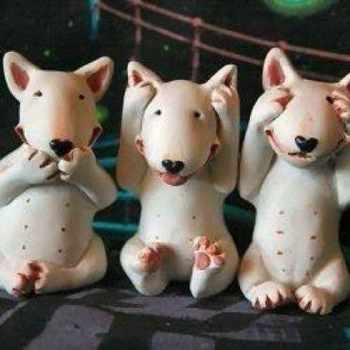 Bull Terrier Figurines