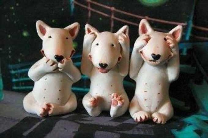 Bull Terrier Figurines