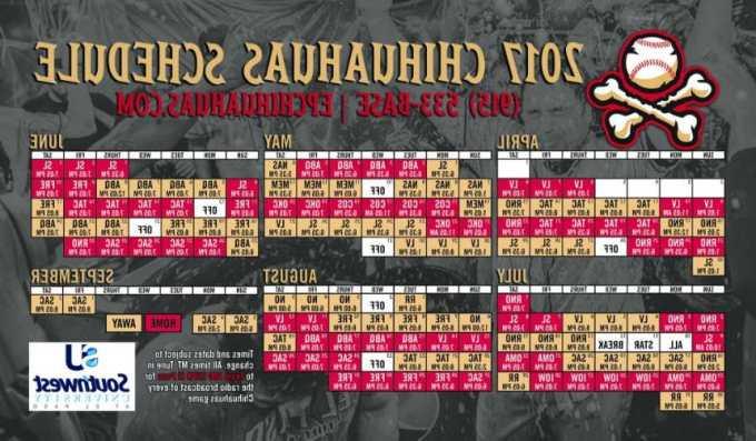 Chihuahua Game Schedule