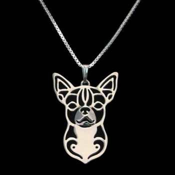 Chihuahua Necklace Charm