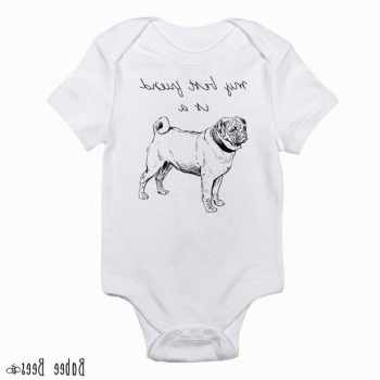 Cute Pug Baby Clothes
