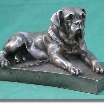 English Mastiff Statue
