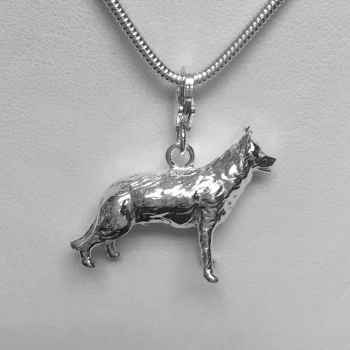 German Shepherd Charm Bracelet
