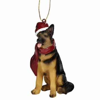 German Shepherd Christmas Decorations