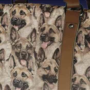 German Shepherd Fabric