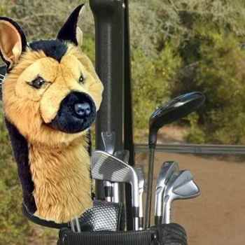 German Shepherd Golf Head Cover