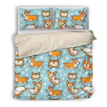 Corgi Bed Sheets
