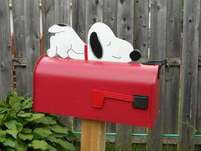 German Shepherd Mailbox