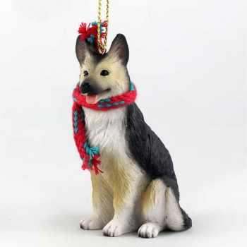 German Shepherd Ornaments