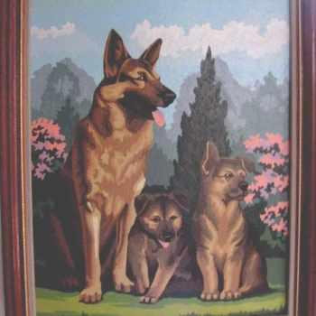 German Shepherd Paint By Number