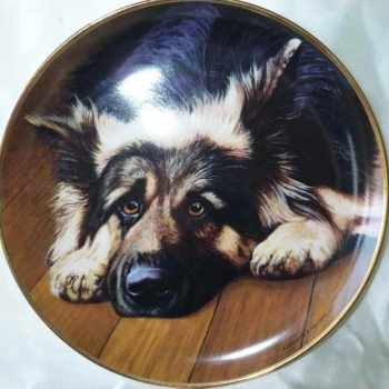 German Shepherd Plates