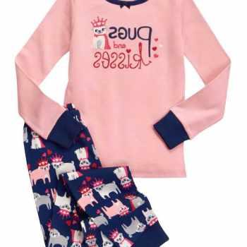 Girls Pug Pyjamas