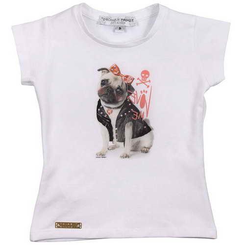 Girls Pug Shirt