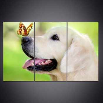Golden Retriever Canvas Wall Art